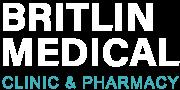 Britlin Medical logo white 2021
